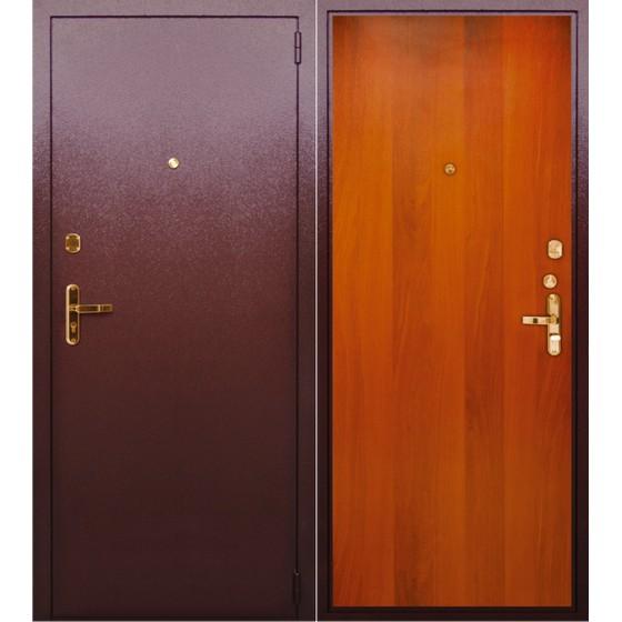 Сейф-дверь ЭК-1. Дверь входная фабрики «БЕРЛОГА»