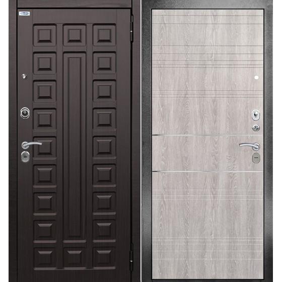 Сейф-дверь 3K Санса. Дверь входная фабрики «БЕРЛОГА»