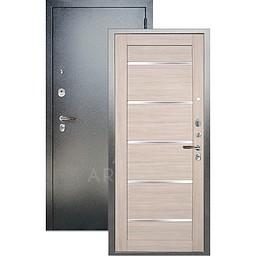 Входная дверь «АРГУС»: ДА-97 АЛЕКСАНДРА БУКСУС / АНТИК СЕРЕБРО