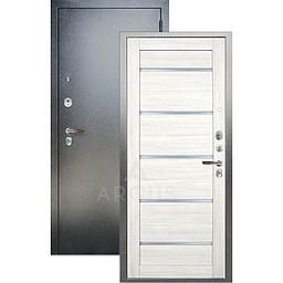 Входная дверь «АРГУС»: ДА-97 АЛЕКСАНДРА ЛИСТВЕННИЦА / АНТИК СЕРЕБРО