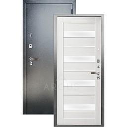 Входная дверь «АРГУС»: ДА-97 (2П) МИЛАНА ЛИСТВЕННИЦА / АНТИК СЕРЕБРО