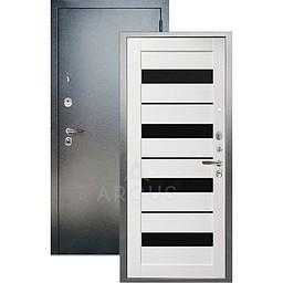 Входная дверь «АРГУС»: ДА-97 МИЛАНА ЛИСТВЕННИЦА / АНТИК СЕРЕБРО