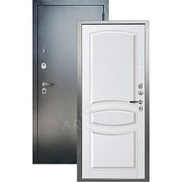 Входная дверь «АРГУС»: ДА-99 ВИКТОРИЯ БЕЛЫЙ ЖЕМЧУГ / АНТИК СЕРЕБРО