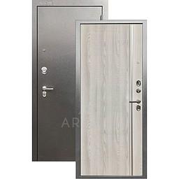 Входная дверь «АРГУС»: «ДА-65» МУЛЬСАН ясень РИВЬЕРА АЙС