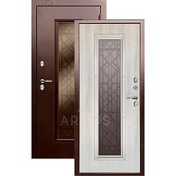 Входная уличная дверь «АРГУС»: с терморазрывом «Тепло Бриан new»