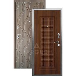 Входная дверь «АРГУС»: «ДА-10» АЛЬМА (2П) ДУБ РУСТИКАЛЬНЫЙ / МДФ АНХЕЛЬ КЕРАМИКА