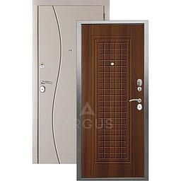 Входная дверь «АРГУС»: «ДА-10» АЛЬМА (2П) ДУБ РУСТИКАЛЬНЫЙ / МДФ СОРОС СИЛК МАКАДАМИЯ