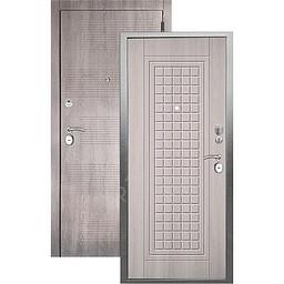 Входная дверь «АРГУС»: «ДА-10» АЛЬМА (2П) ЛАРЧЕ СВЕТЛЫЙ / МДФ КЛОД ГРЕЙ