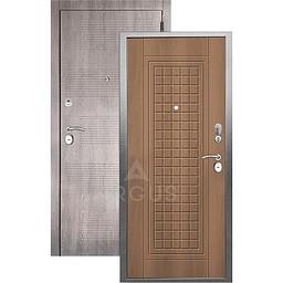 Входная дверь «АРГУС»: «ДА-10» АЛЬМА (2П) ОРЕХ МИЛАНСКИЙ / МДФ КЛОД ГРЕЙ