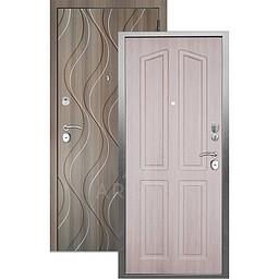 Входная дверь «АРГУС»: «ДА-10» (2П) ЛОНДОН ЛАРЧЕ / МДФ АНХЕЛЬ КЕРАМИКА