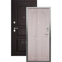 Входная дверь «АРГУС»: «ДА-10» (2П) ЛОНДОН ЛАРЧЕ / МДФ САБИНА ВЕНГЕ ТИСНЕНЫЙ
