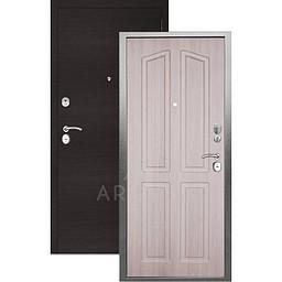 Входная дверь «АРГУС»: «ДА-10» (2П) ЛОНДОН ЛАРЧЕ / МДФ ГОРИЗОНТ ВЕНГЕ