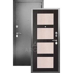 Входная дверь «АРГУС»: «ДА-10» РАУНД ВЕНГЕ КАПУЧИНО