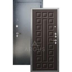 Входная дверь «АРГУС»: «ДА-64» СЕНАТОР венге структурный кофе