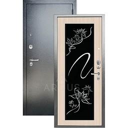 Входная дверь «АРГУС»: «ДА-65» АДЕЛЬ белый ясень