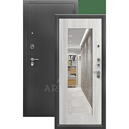 Входная дверь «АРГУС»: «ДА-66» (промо) МИЛЛИ ясень ривьера айс