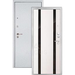 Входная дверь «АРГУС»: «ДА-85/2» ДУЭТ БЕЛОЕ ДЕРЕВО