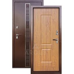 Входная уличная дверь «АРГУС»: с терморазрывом «ТЕПЛО-1» Бином коричневый