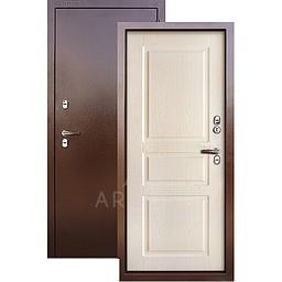 Входная уличная дверь «АРГУС»: с терморазрывом «ТЕПЛО-5» дуб бежевый