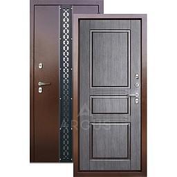 Входная уличная дверь «АРГУС»: с терморазрывом «ТЕПЛО-5» венге Проксима