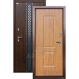 Входная уличная дверь «АРГУС»: с терморазрывом «ТЕПЛО-1» (2П) ПРОКСИМА ДУБ ТЁМНЫЙ