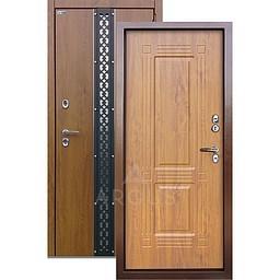 Входная уличная дверь «АРГУС»: с терморазрывом «ТЕПЛО-1» (2П) ПРОКСИМА ДУБ ЯНТАРНЫЙ