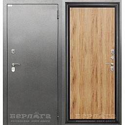 Сейф-дверь 3К ТЕРМО Рустик. Дверь входная фабрики «БЕРЛОГА»