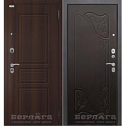 Сейф-дверь Тринити (АС) Веста Венге. Дверь входная фабрики «БЕРЛОГА»
