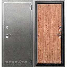 Сейф-дверь 3К ТЕРМО Марвин Рустик. Дверь входная фабрики «БЕРЛОГА»