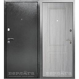 Сейф-дверь Абсолют Грей. Дверь входная фабрики «БЕРЛОГА»