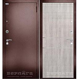 Сейф-дверь Санса. Дверь входная фабрики «БЕРЛОГА»