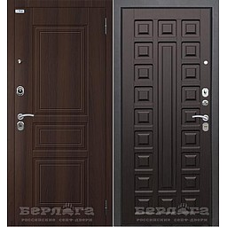 Сейф-дверь Тринити (АС) Сенатор. Дверь входная фабрики «БЕРЛОГА»